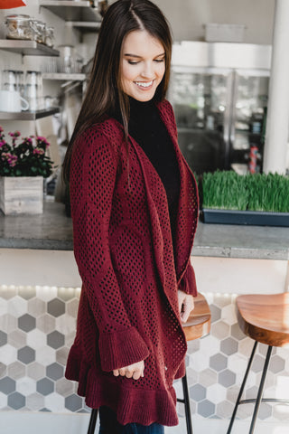 Holiday Knitted Cardi