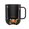 Cutaway of the Ember Mug² showcasing the advanced technology of the internal components