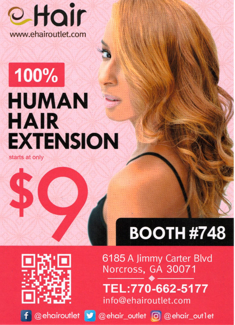 ehair outlet, Bronner Bros International Beauty Show