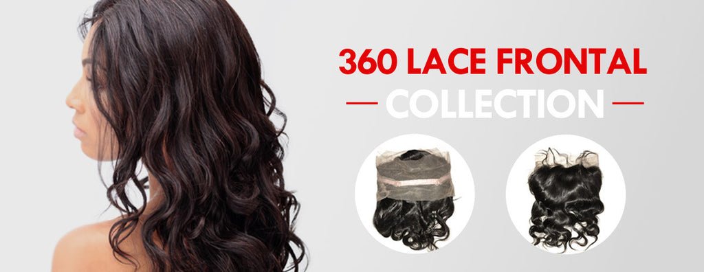 Remy 360 Lace frontal Band Human Hair | eHair Outlet