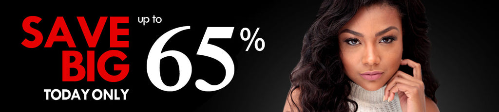 Save big this Saturday on 100% Human Hair Extension Up to 65% | eHair Outlet