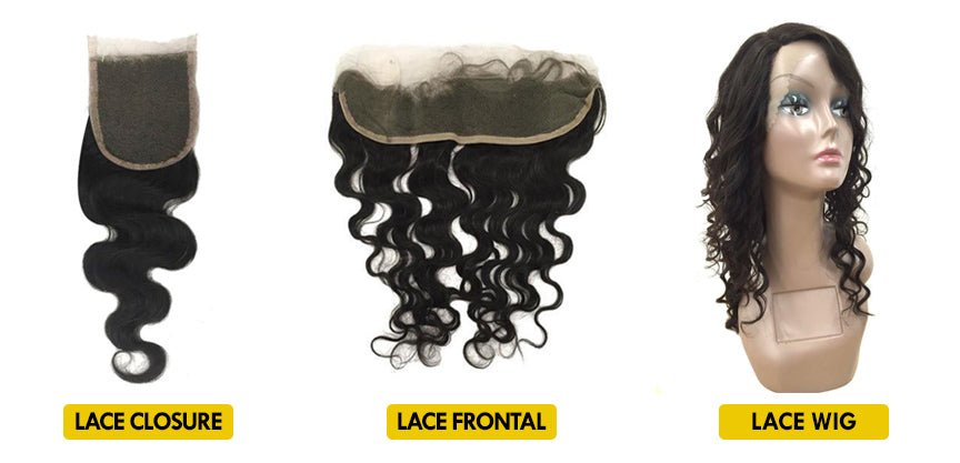 Lace closure, lace frontal & lace wig sale | eHair Outlet