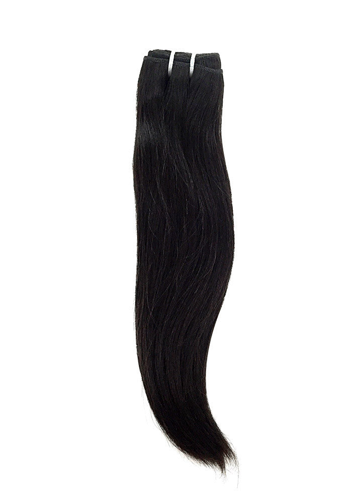 10A Malaysian Double Drawn Straight Virgin Human Hair Extension - eHair Outlet