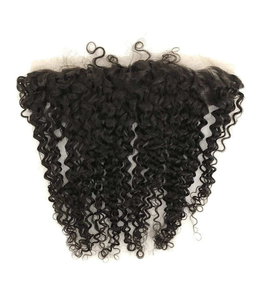 "Remy 13""x4"" Jerry Curl Lace Frontal-eHair Outlet"