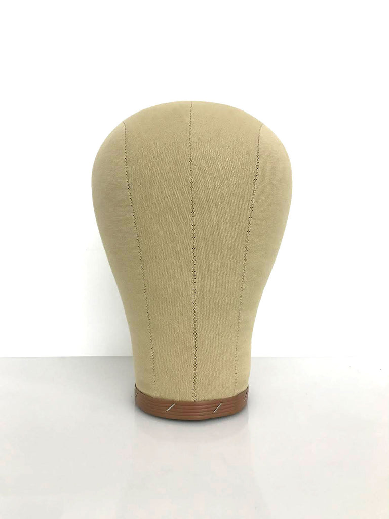 Canvas Wig Block Mannequin Head Display-eHair Outlet