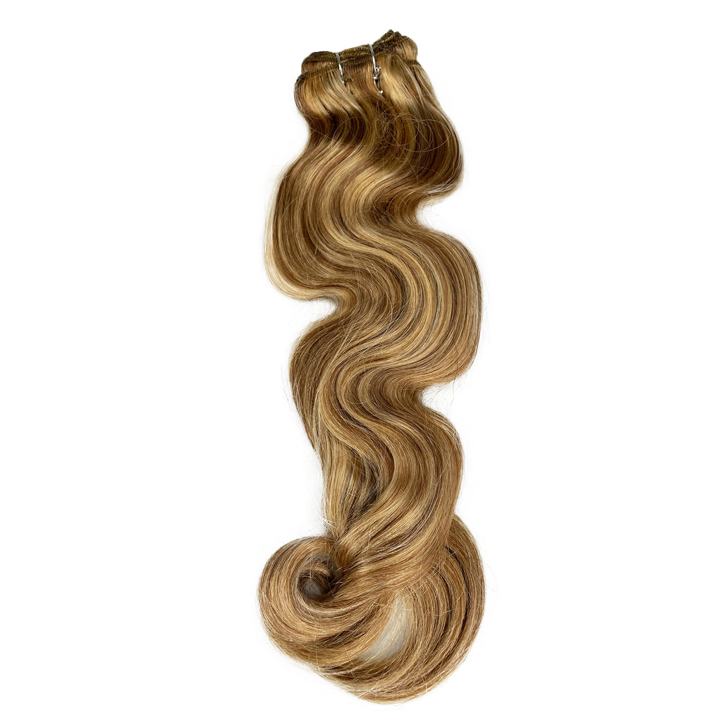 "18"" 8A Malaysian Body Wave Human Hair Silk Front Wig #13-1191A - eHair Outlet"