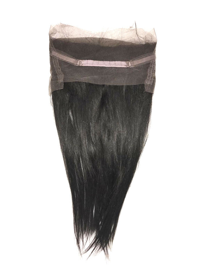 5A Brazilian 2 Bundle Straight Virgin Human Hair w/ 360 Lace Frontal - eHair Outlet