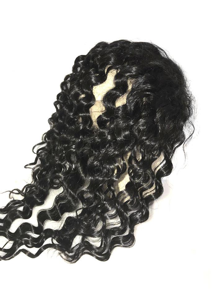 8A Malaysian 2 Bundle Deep Wave Virgin Human Hair w/ 360 Lace Frontal - eHair Outlet