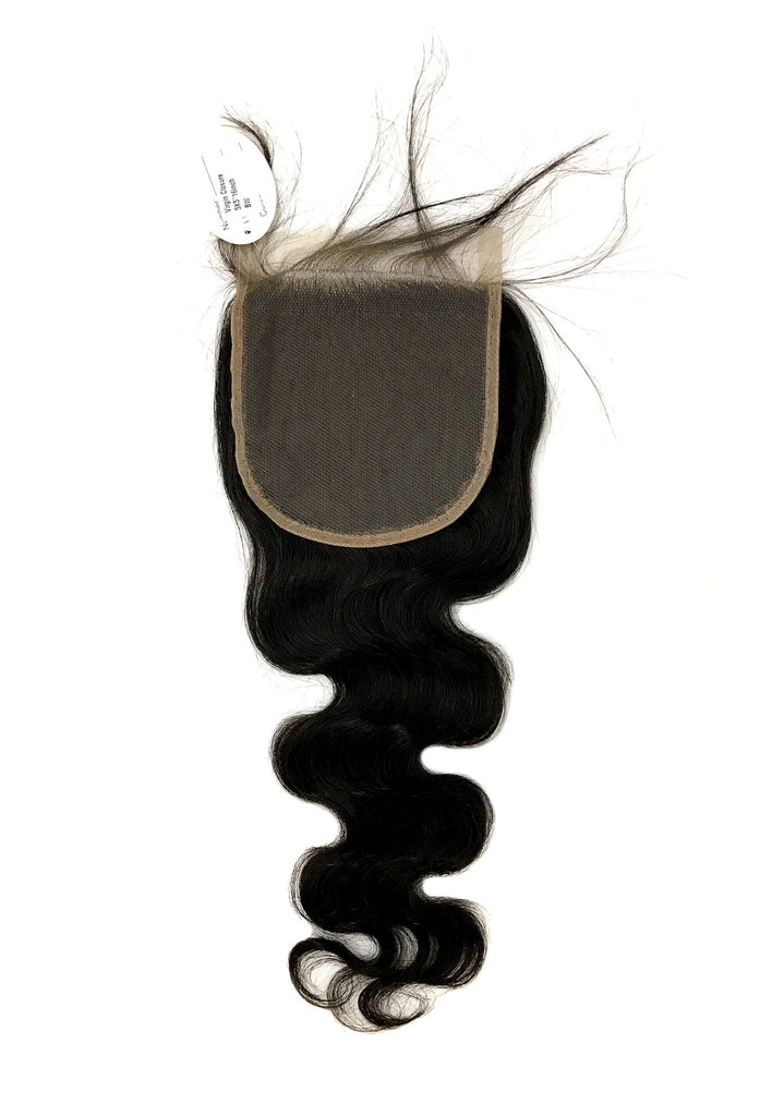 "Virgin Body Wave Lace Closure 5""x5"" - eHair Outlet"