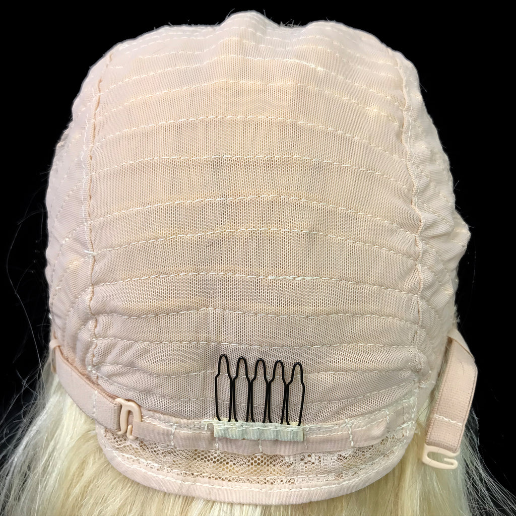 "Remy Straight  13""X 4""Lace Frontal Bob Wig  Blonde #613 - eHair Outlet"