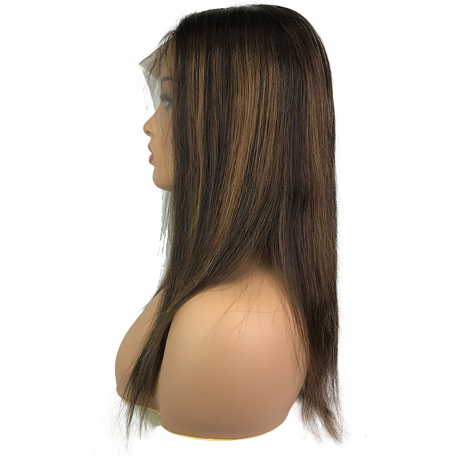 Remy Straight Lace Frontal Wig  #2/6/2 - eHair Outlet