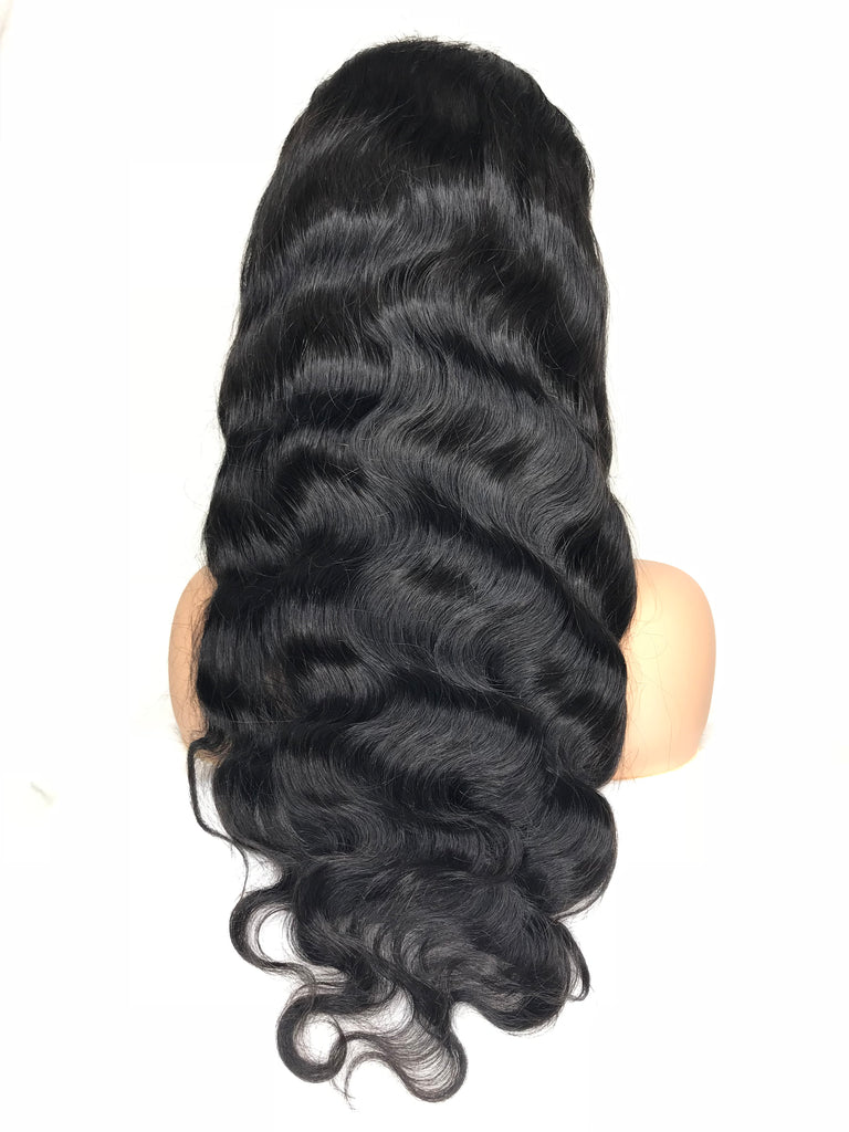 8A Malaysian Body Wave Lace Frontal Human Hair Wig - eHair Outlet