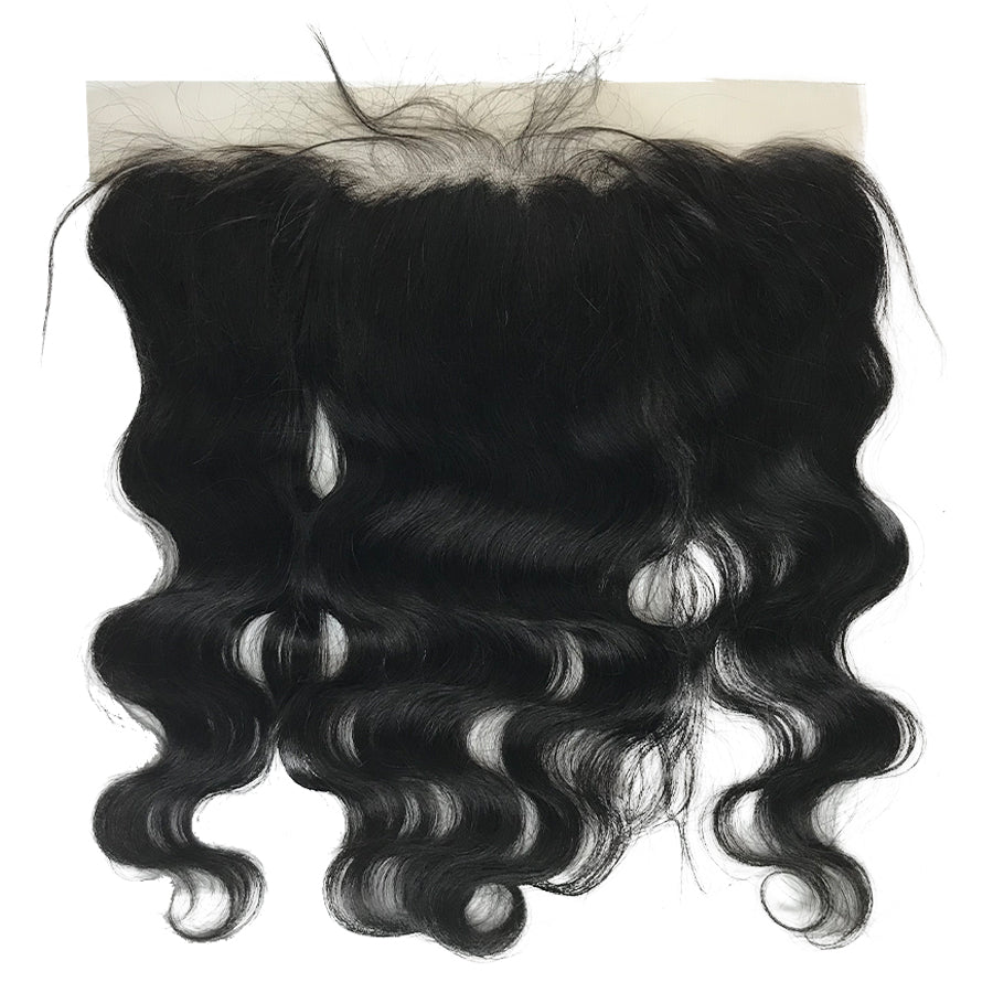 "HD Transparent Remy 13""x4"" Body Wave Lace Frontal - eHair Outlet"