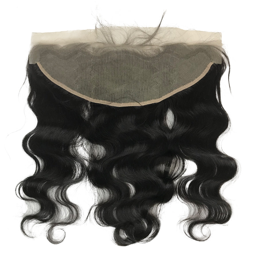 "HD Transparent Virgin 13""x4"" Body Wave  Lace Frontal - eHair Outlet"