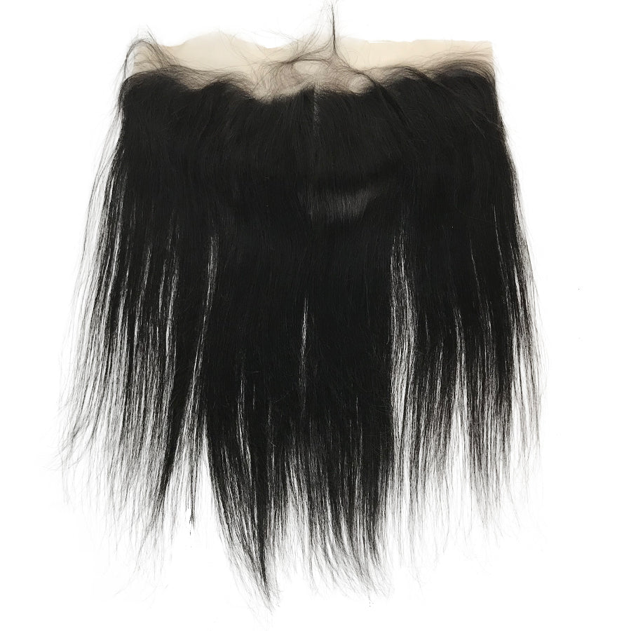"HD Transparent Virgin 13""x4"" Straight  Lace Frontal - eHair Outlet"