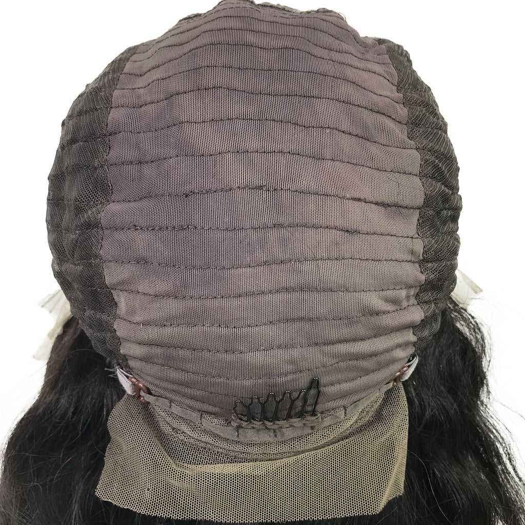 8A Malaysian Straight Lace Frontal Human Hair Wig - eHair Outlet