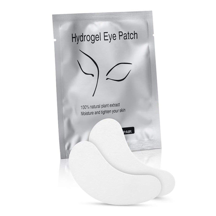 Under Eye Eyelash Extension Gel Patches Kit Lint Free Eye Mask Pads Lash Extension Beauty Tool - eHair Outlet