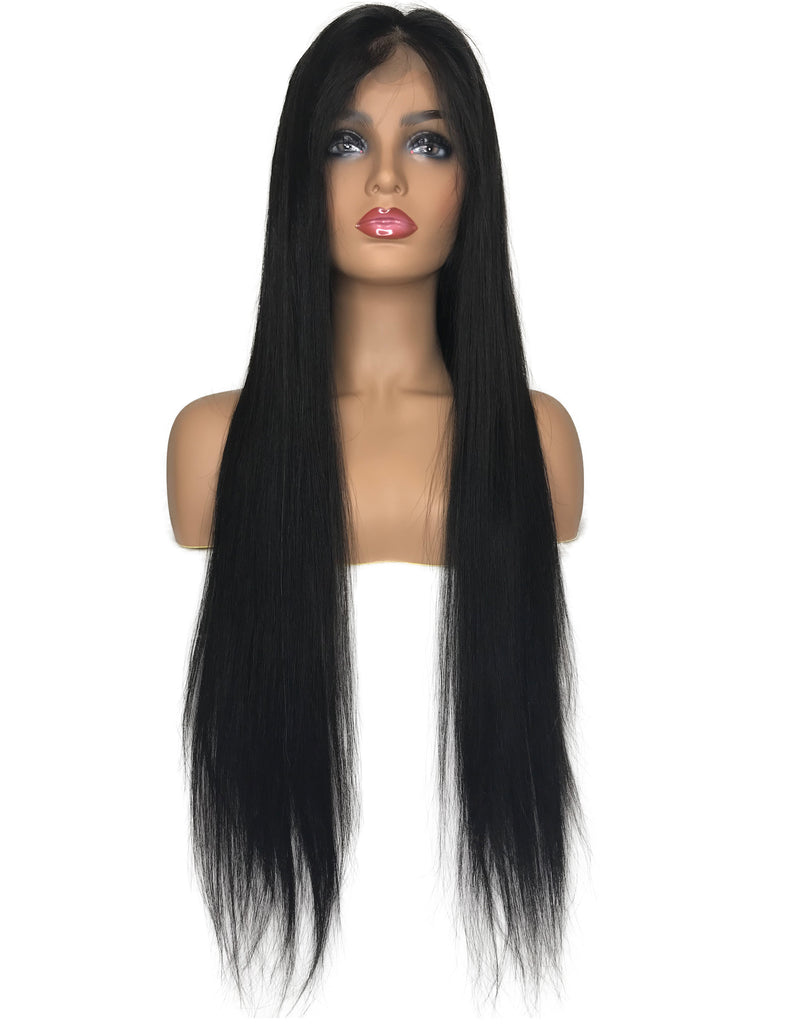8A Malaysian Straight 360 Lace Human Hair Wig - eHair Outlet