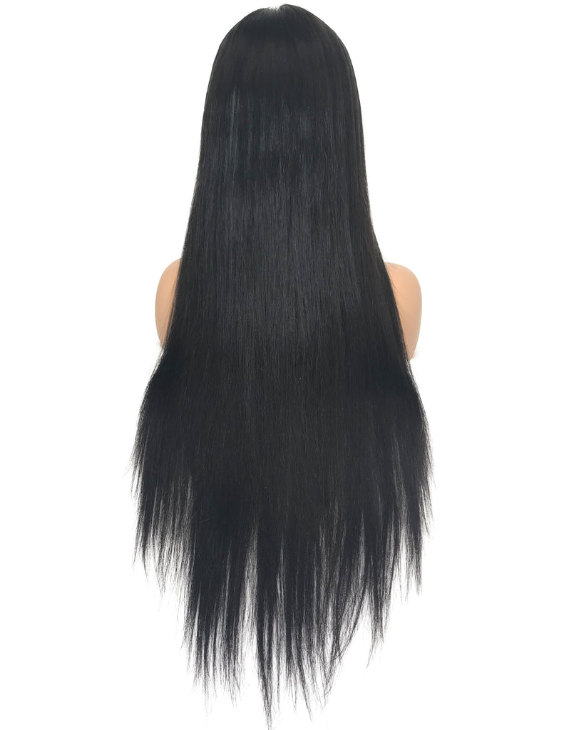 8A Malaysian Straight Lace Frontal Human Hair Wig