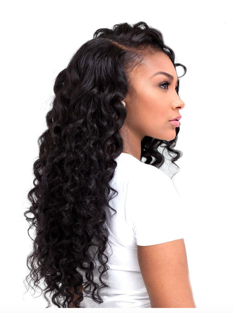 8A Malaysian 3 Bundle Set Deep Wave Virgin Human Hair Extension 300g - eHair Outlet
