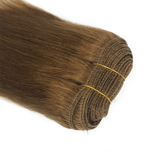 "5A 10"" Yaki Straight Human Hair Extension Color #1/#1B/#27/#33 - eHair Outlet"
