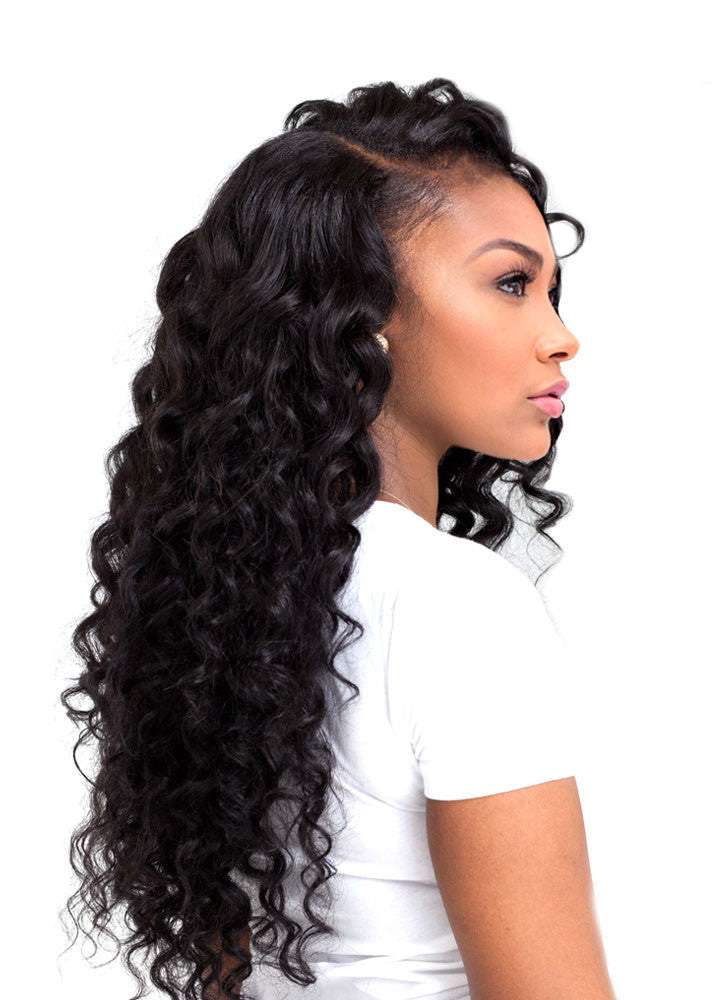 8A Malaysian Deep Wave Human Hair Extension - ehair outlet - 1