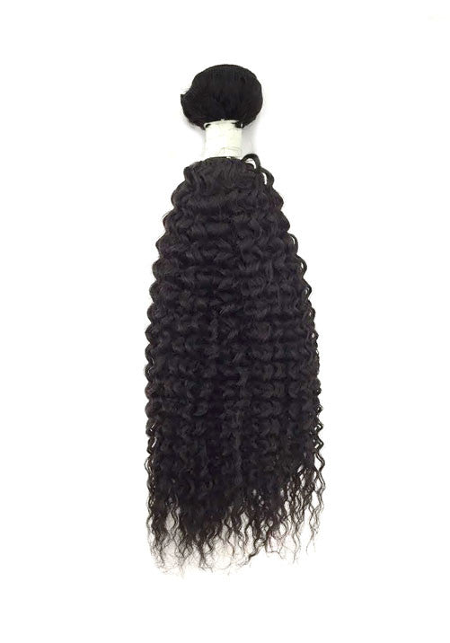8A Malaysian Jerry Curl Human Hair Extension - eHair Outlet