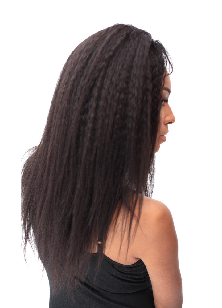 8A Malaysian Kinky Straight Human Hair Extension-eHair Outlet