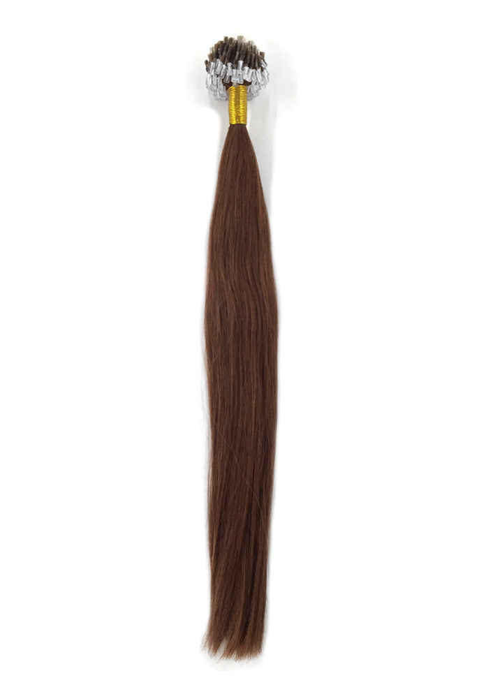 9A Micro Link Straight Human Hair Extension Color 33-eHair Outlet