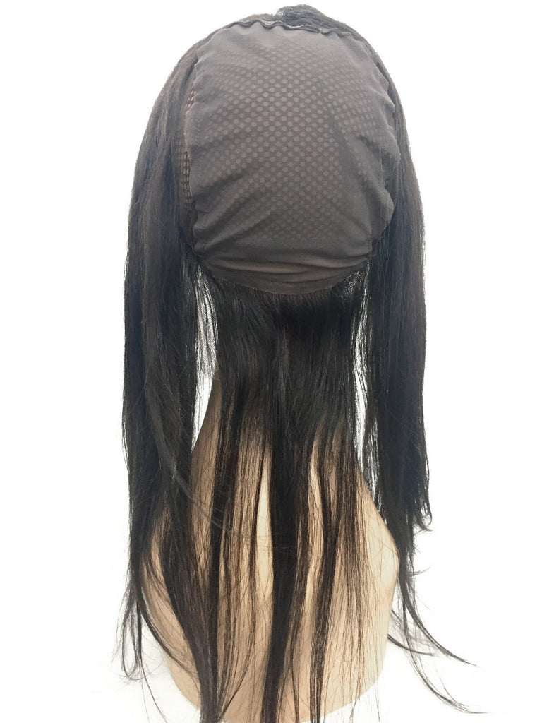 Remy Lace Frontal w/ Cap Straight Human Hair - eHair Outlet