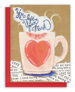 Romantic Coffee Card