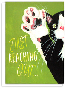 Thinking Of You - Meet Max® Tuxedo Cat - Just Reaching Out