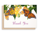 Monarch Butterfly Thank You Notecards