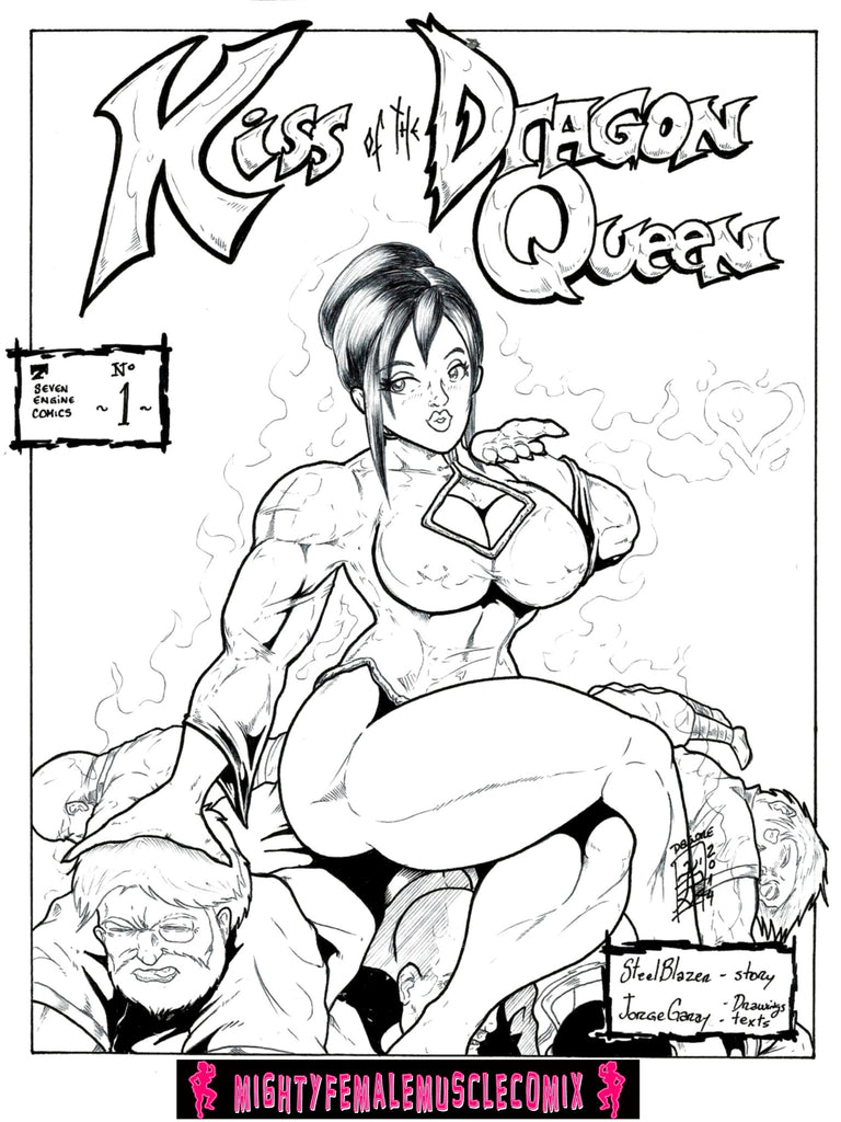Kiss Of The Dragon Queen #1