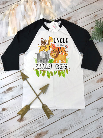 Uncle of the Wild One, Wild One Party, Jungle Birthday, Safari Birthday