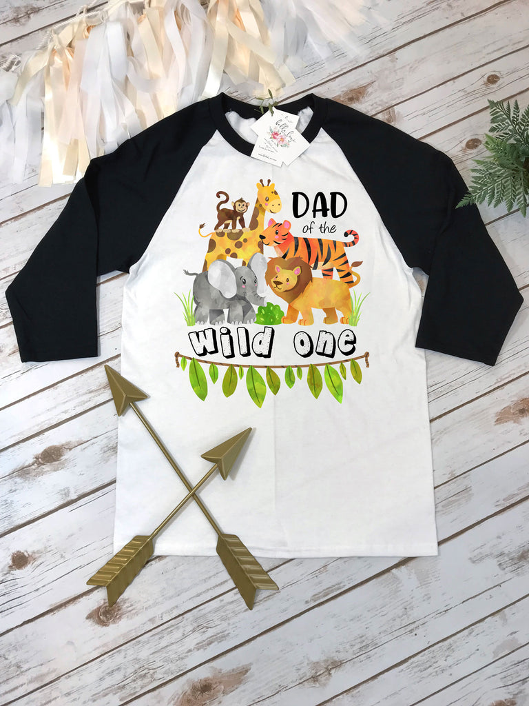 Dad of the Wild One, Wild One Party, Jungle Birthday, Safari Birthday