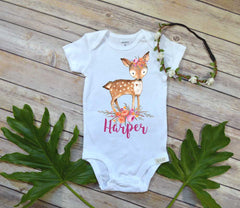 Custom Baby Gift, Personalized Baby Gift, Newborn Baby Gift, Baby Girl Gift, Baby Shower Gift - Bella Lexi Boutique