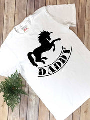 Unicorn Party, Daddy and Me, Daddy Unicorn, Daddy and Me Outfits, Family Shirts - Bella Lexi Boutique