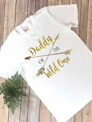 Daddy of the Wild One, Wild One Birthday, Daddy and Me Outfits, Family Shirts, Wild One Party - Bella Lexi Boutique