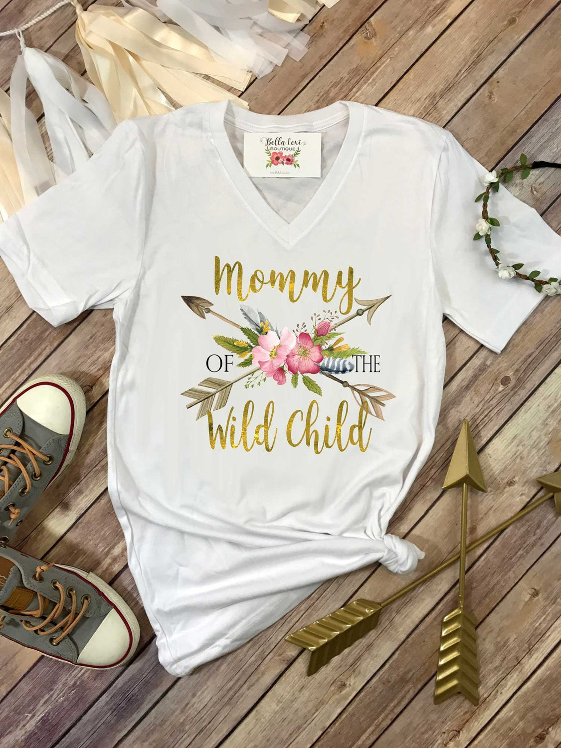 Mommy Of The Wild Child One Party And Me Shirts