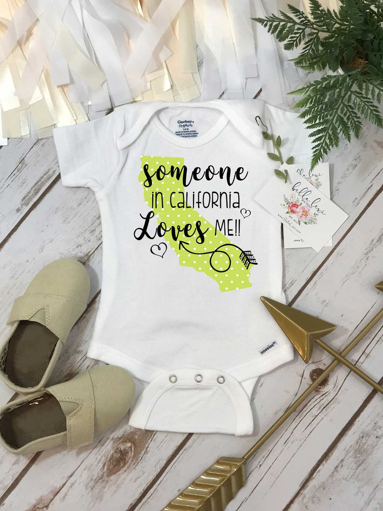 California Onesie®, Baby Shower Gift, Someone in California, State Onesie, from California Love - Bella Lexi Boutique