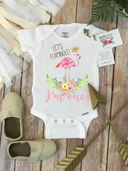 Birthday Onesie®, Let's Flamingle, First Birthday Onesie, Flamingo Party, Flamingo Birthday - Bella Lexi Boutique