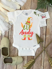 Christmas Onesie®, Elf Onesie, Personalized Christmas, 1st Christmas, My First Christmas - Bella Lexi Boutique