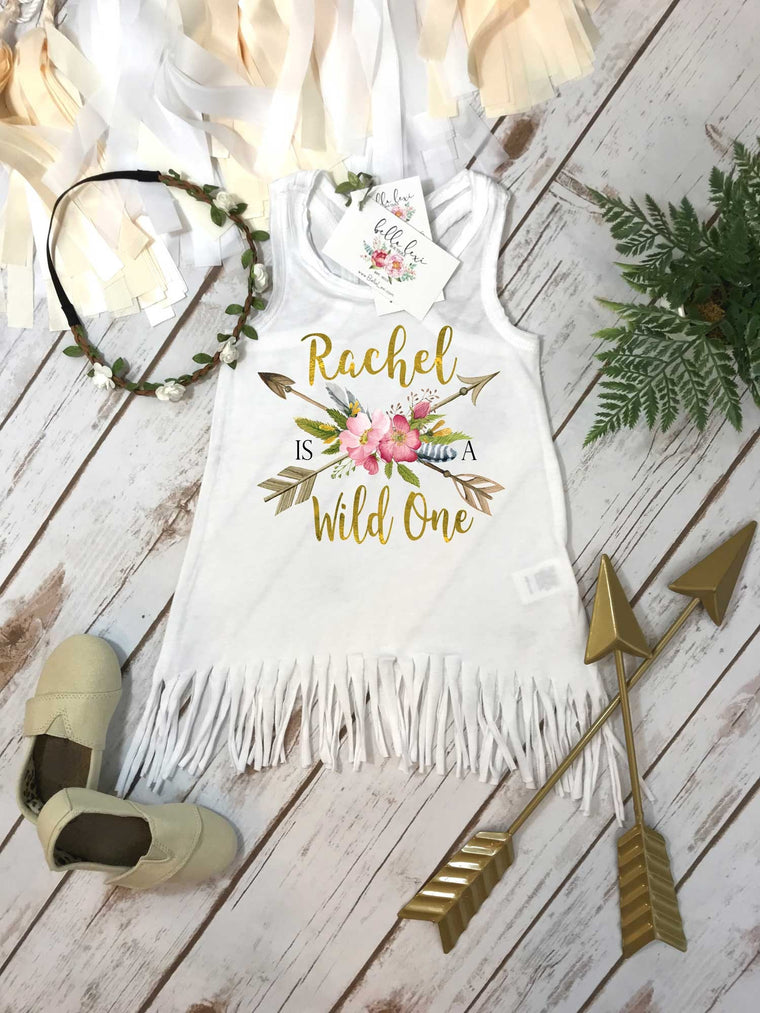 First Birthday, Wild One, Girl Birthday Dress, Personalized Birthday, 1st Birthday