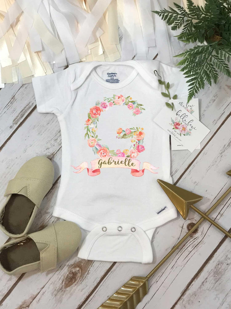 Personalized Baby Onesie®, Custom Name Onesie, Baby Shower Gift, Custom Baby Gift, Personalized Baby Gift
