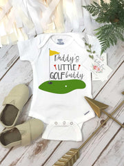 Golf Onesie®, Daddy's Little Golf Buddy, Baby Shower Gift, Golf Baby shirt, Golfing Buddy