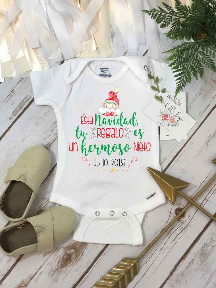 Spanish Pregnancy Reveal, Abuela y Abuelo, Pregnancy Announcement, Spanish Baby Reveal, Sorpresa Bebe en Camino
