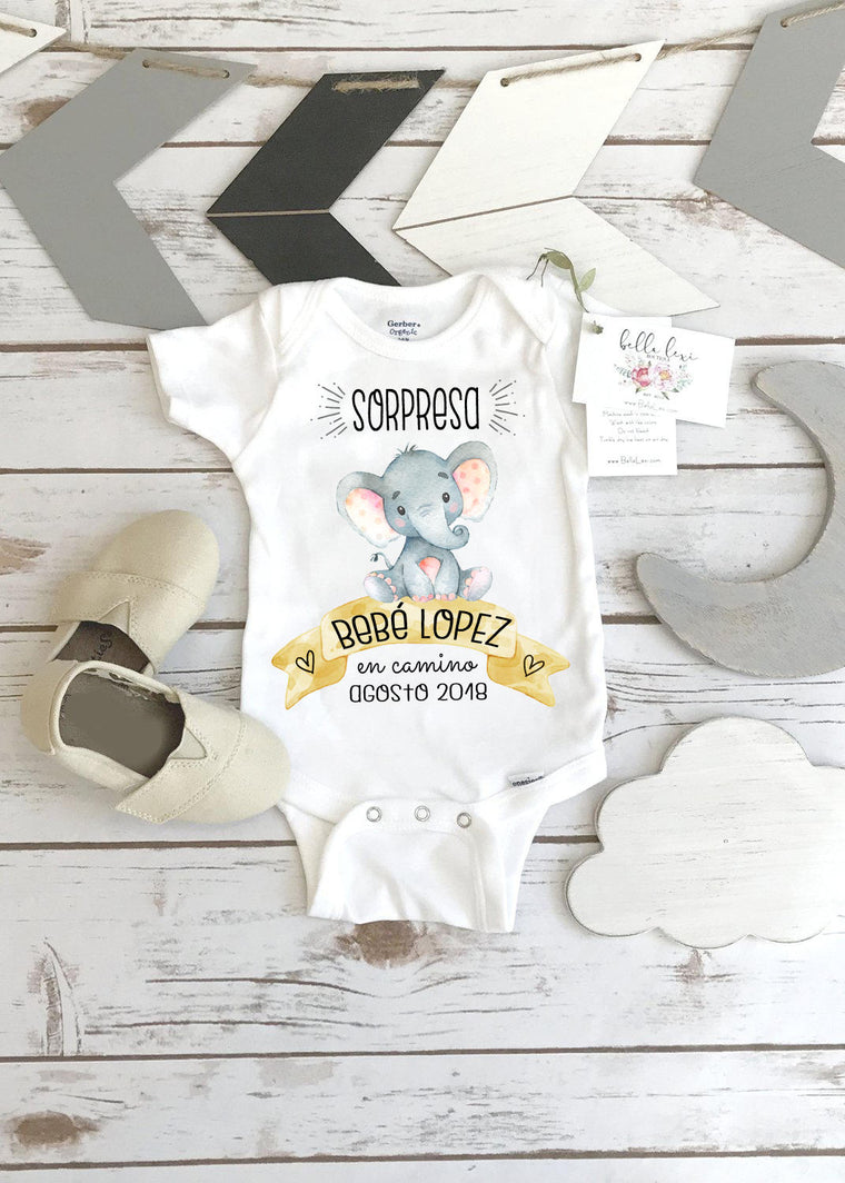 Sorpresa Bebe en Camino, Spanish Baby Reveal, Spanish Pregnancy Announcement