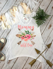 Mommy of the Wild One, Wild One Party, Mommy and Me shirts, Mommy and Me Outfits, Wild One Birthday