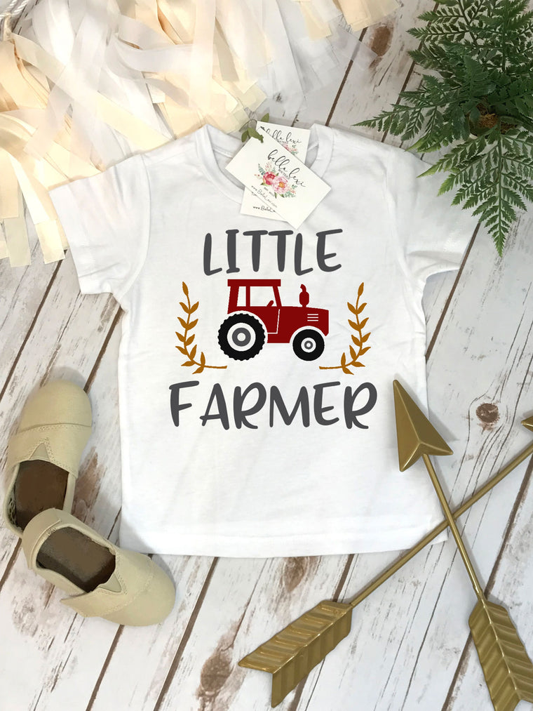 Pregnancy Announcement, Little Farmer Shirt, Big Brother Shirt, Country Baby Coming, Baby Reveal